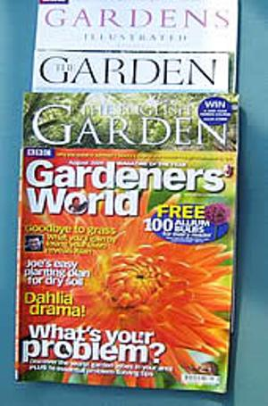 The Garden Magazine Market is Skewed a review of gardening