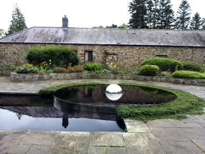 Sunken Garden © Anne Wareham Thinkingardens, think gardens, think in gardens, Aberglasney, Aberglasney Garden, South Wales Garden, Welsh garden, Anne Wareham, Veddw, garden review