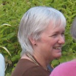 Bridget Rosewell portrait, copyright Anne Wareham for thinkingardens, Veddw, Monmouthshire, South Wales garden