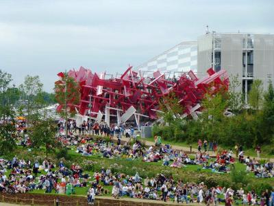 Olympic Park 1. copyright Bridget Rosewell