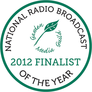 Garden Media Guild National Radio Broadcast Finalist