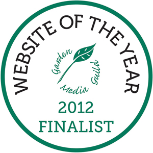 Garden Media Guild Website Finalist