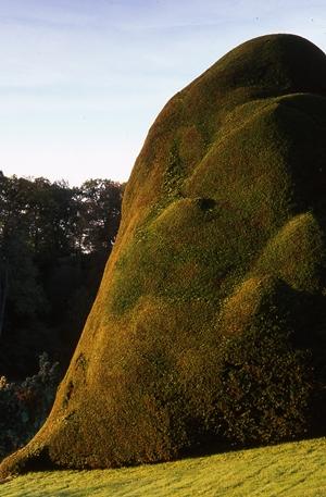 Powis Castle, Welshpool, Powys, Wales. October