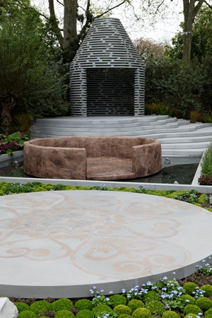 Prince Harry's garden for the charity Sentebale by Jinny Blom for Chelsea 2013 copyright Charles Hawes