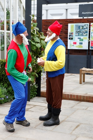 Gnomes at Chelsea copyright Charles Hawes for thinkingardens