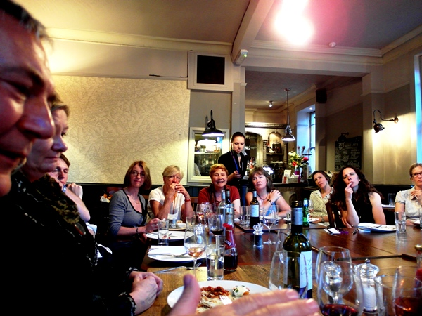 Thinkingardens Supper at Chelsea Fringe 2014 Copyright Anne Wareham