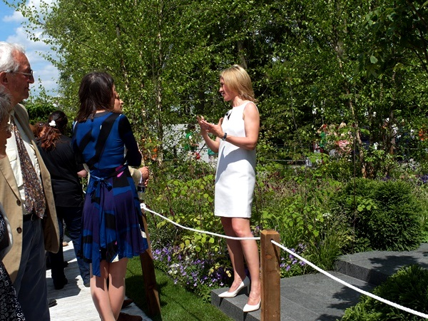 Sophie Raworth, People_ Chelsea 2014 Copyright Anne Wareham for thinkingardens
