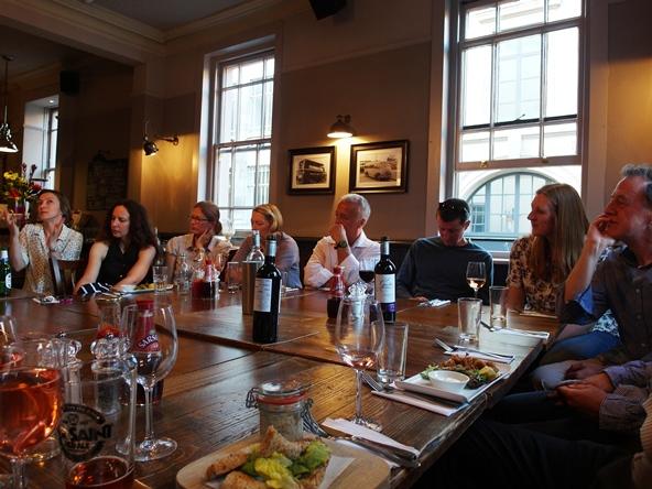 Thinkingardens supper Chelsea 2014 Copyright Anne Wareham 088