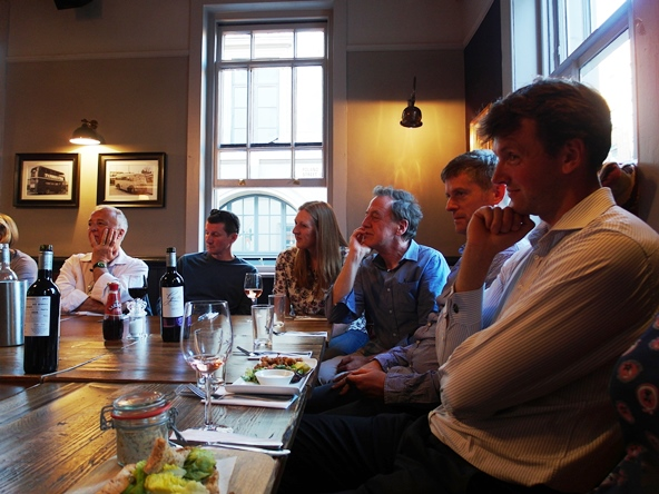 Thinkingardens Supper Chelsea Fringe 2014 Copyright Anne Wareham