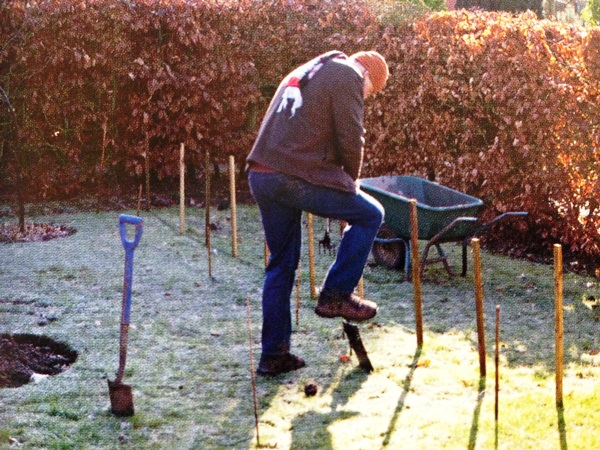 Picture from Re-making a garden. Copyright Clare Hoffman