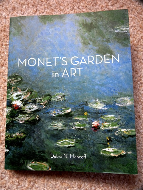 Monet's garden in Art cover, copyright Paul Steer