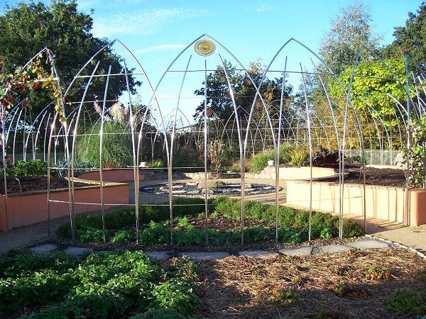 Beautifully designed Biodynamic Garden at Ryton Gardens
